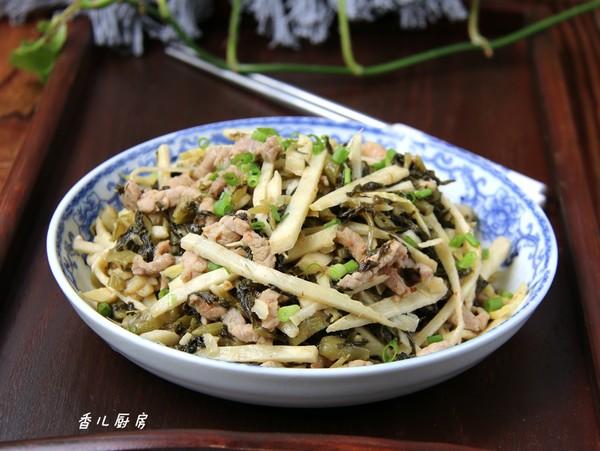 酸菜猪肉笋丝怎么煮