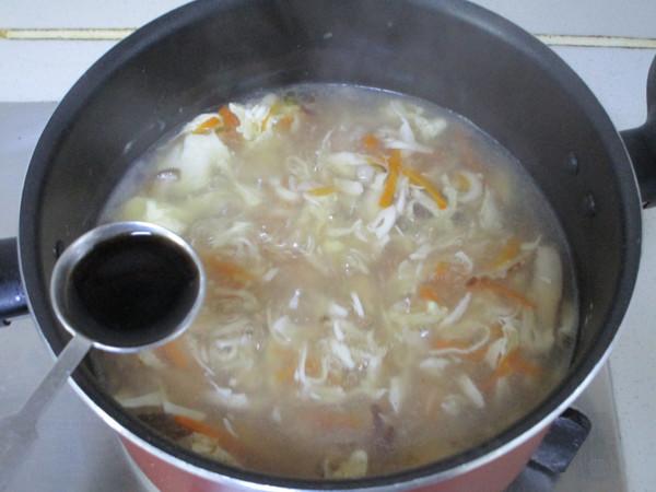 上海酸辣汤怎么煸
