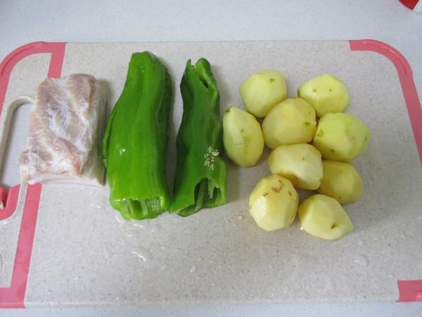 五花肉青椒土豆片的做法大全