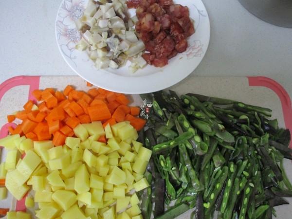 扁豆焖饭的家常做法