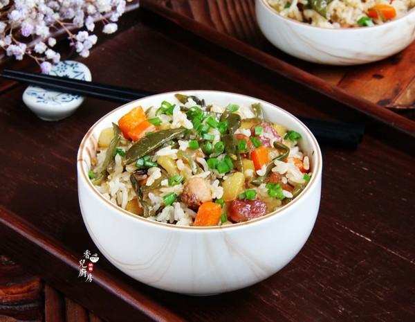 扁豆焖饭怎么煮