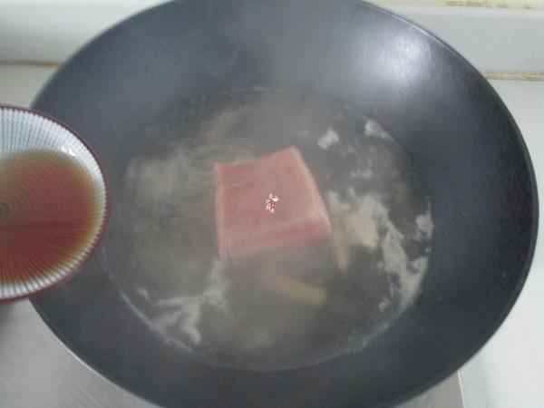 娃娃菜蒸咸肉片的家常做法
