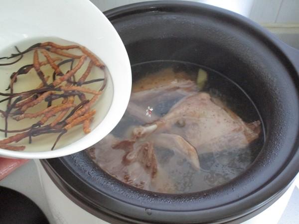 冬虫夏草炖老鸭怎么炒