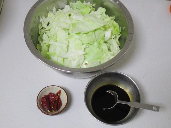 酸辣手撕包菜的做法图解