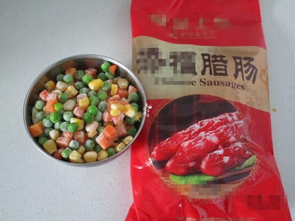 腊肠杂蔬糯米烧麦怎么煮