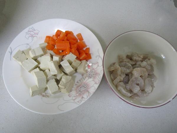 虾仁青豆豆腐的做法图解