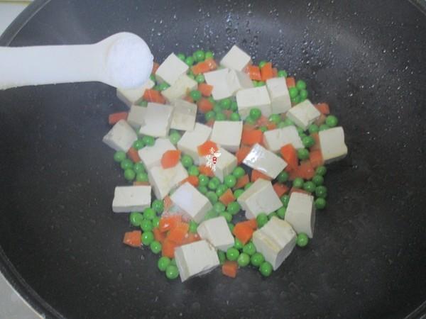 虾仁青豆豆腐怎么做