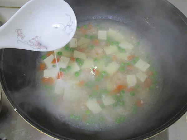 虾仁青豆豆腐怎么煮