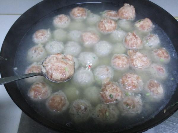 葱花肉丸怎么吃