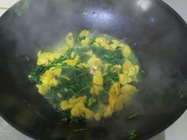 豌豆苗炒土鸡蛋怎么吃
