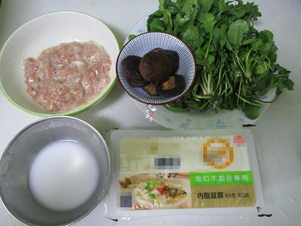酸辣荠菜豆腐羹的做法大全