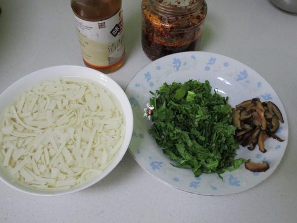 酸辣荠菜豆腐羹的做法图解