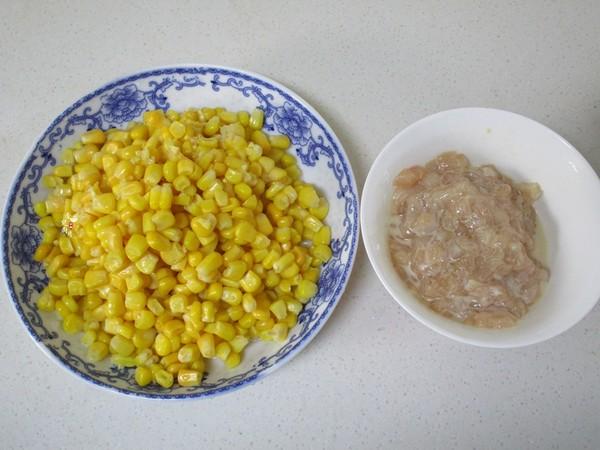 松仁鸡肉炒玉米的做法图解