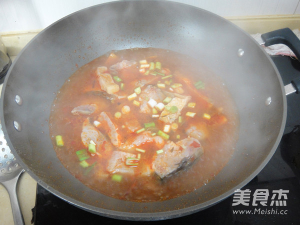 青鱼炖冻豆腐怎么炒