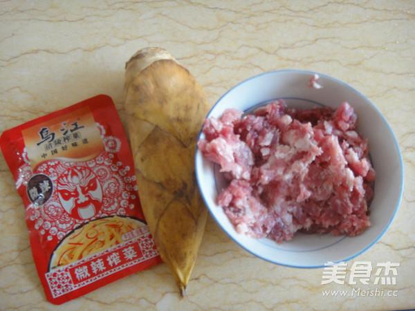 榨菜笋丁鲜肉饼的做法大全