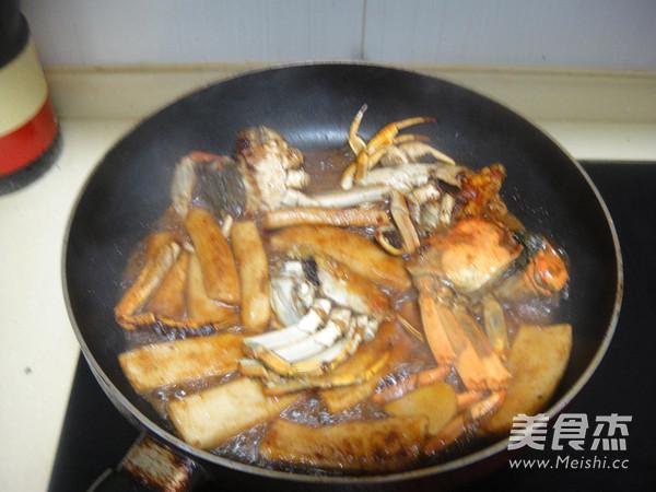 螃蟹年糕怎样煸