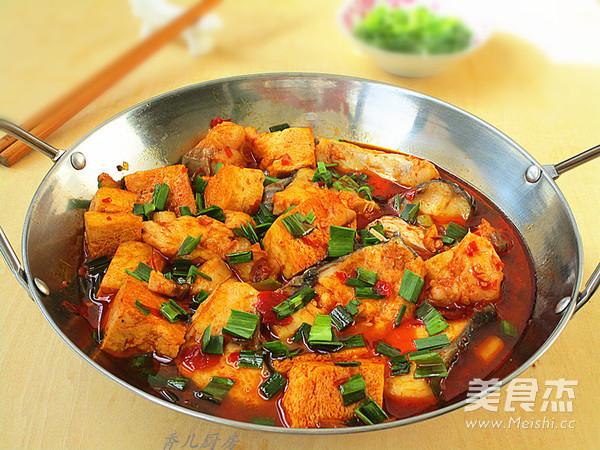 青鱼炖冻豆腐怎样做