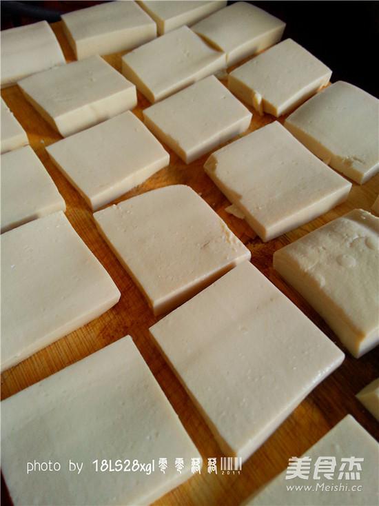 孜然豆腐的做法图解