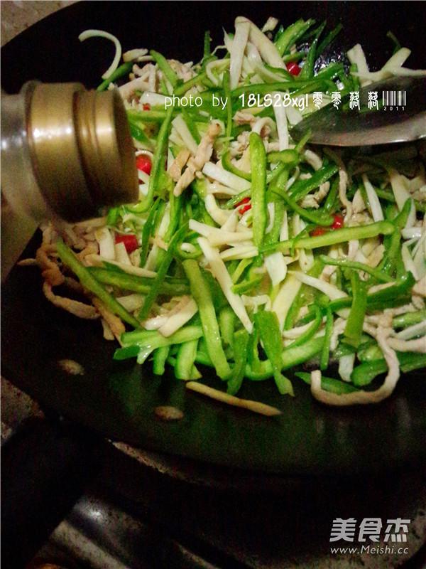 时蔬炒肉丝怎么煮