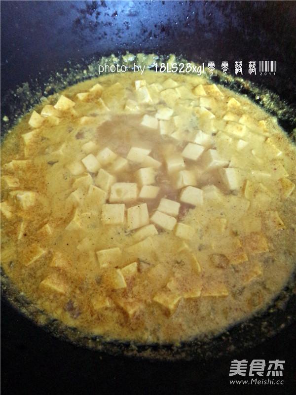 咖喱豆腐怎么煸