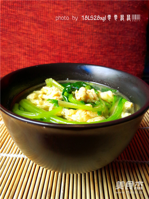 菠菜汤怎么炒