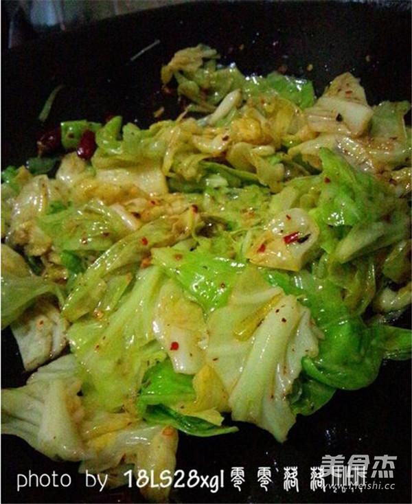 香辣卷心菜怎么煮