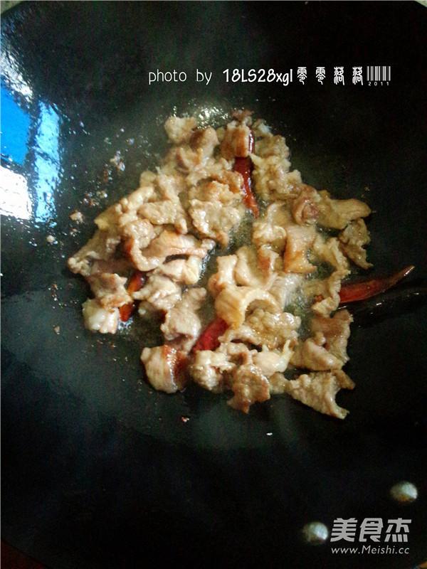 扁豆角炒肉怎么做
