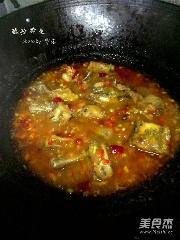 酸辣带鱼怎样煮