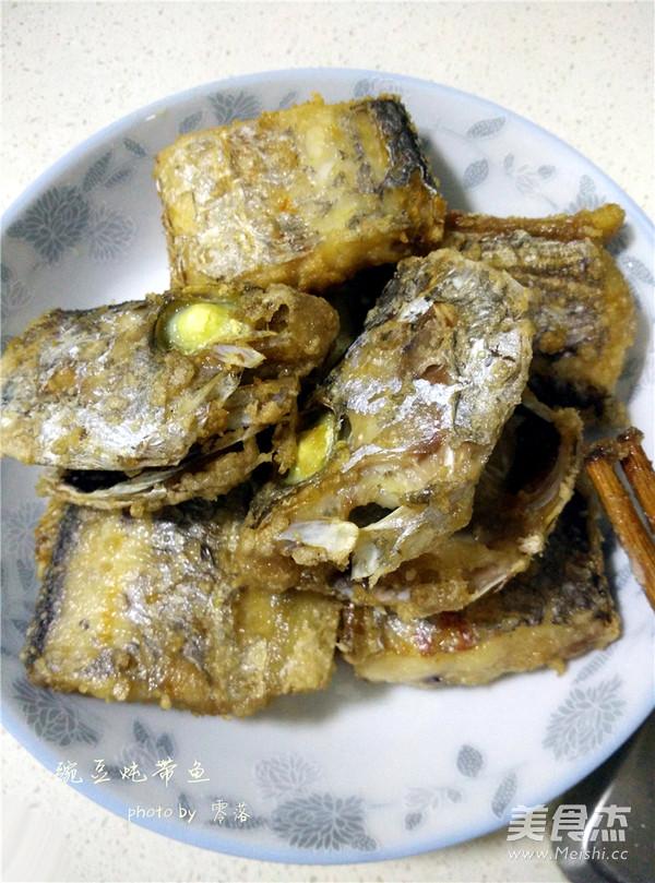 豌豆炖带鱼怎么炒