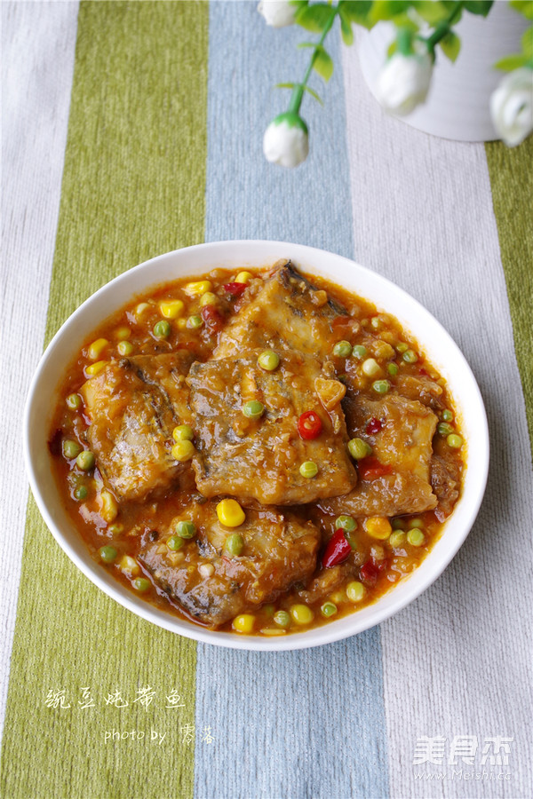 豌豆炖带鱼怎样煮