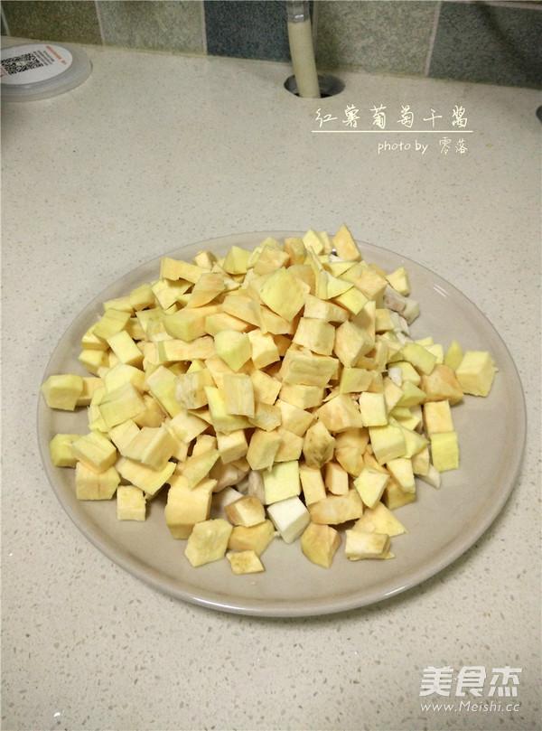 红薯葡萄干酱的做法图解