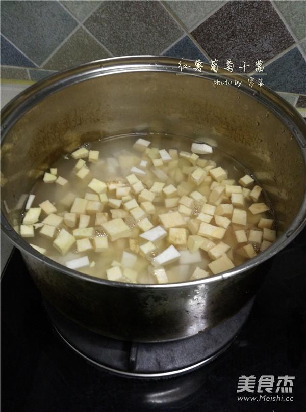 红薯葡萄干酱的简单做法