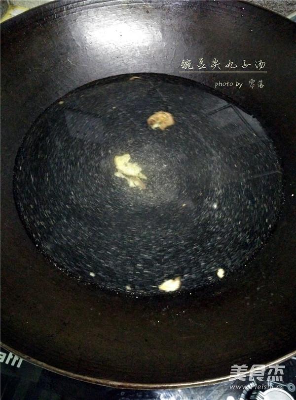 豌豆尖圆子汤的简单做法