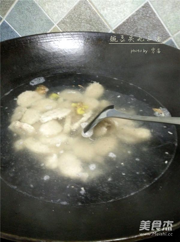 豌豆尖圆子汤怎么吃