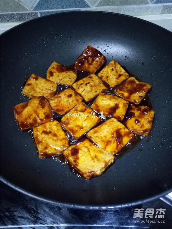 糖醋辣酱豆腐的简单做法