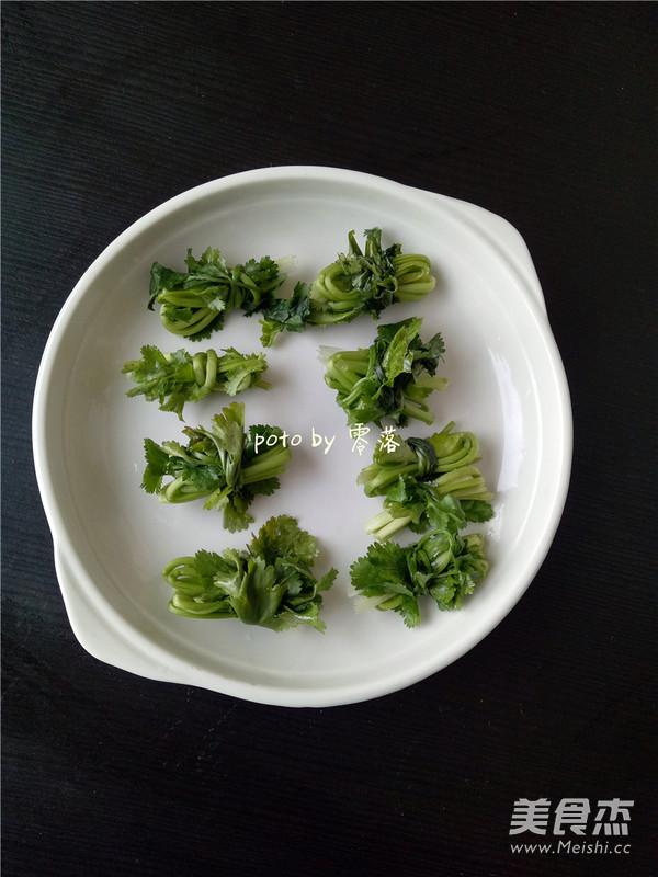 培根香菜卷的做法图解