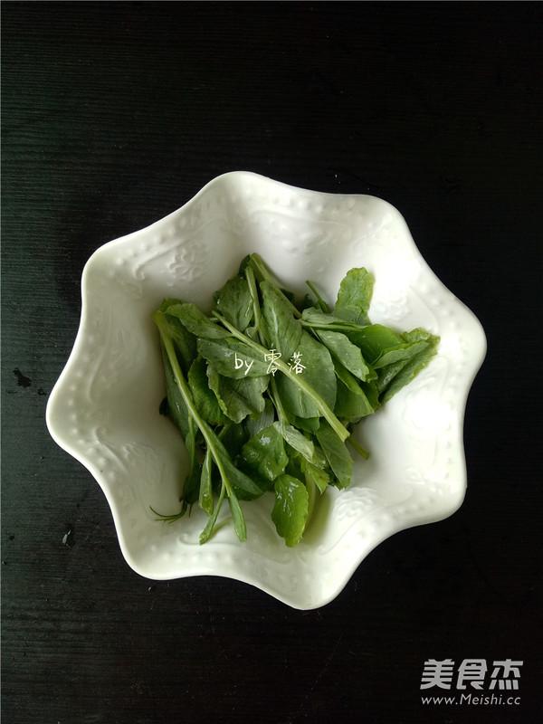 酥肉豌豆尖汤怎么吃