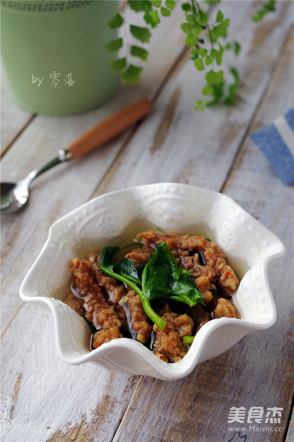 酥肉豌豆尖汤怎么炒