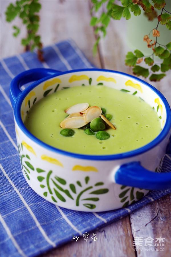 霸王超市丨豌豆浓汤成品图