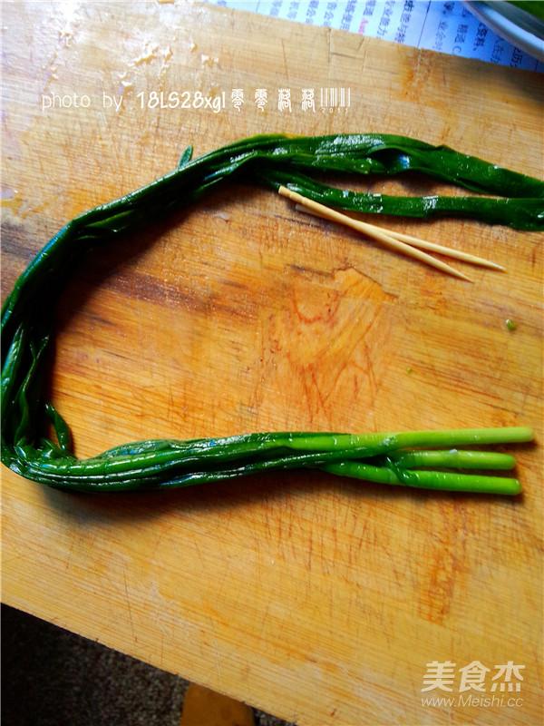 烤韭菜怎么吃