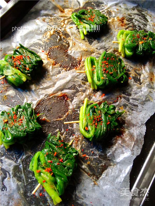 烤韭菜怎样做