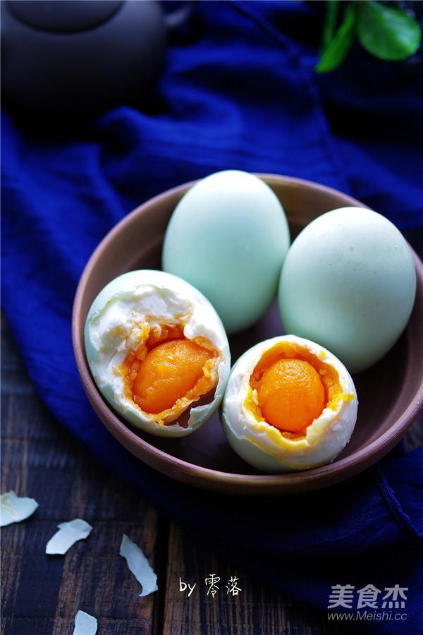自制咸鸭蛋怎样炒