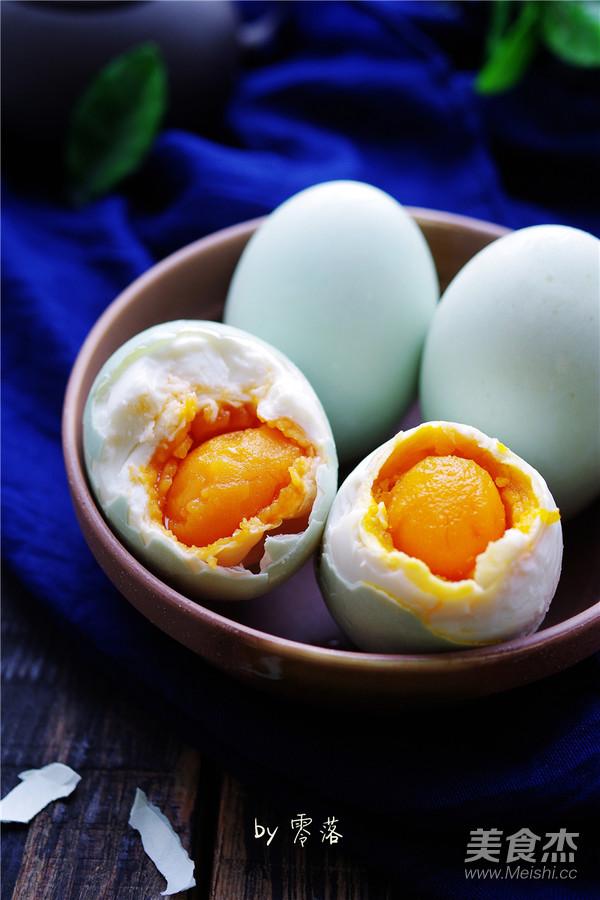 自制咸鸭蛋怎样煮