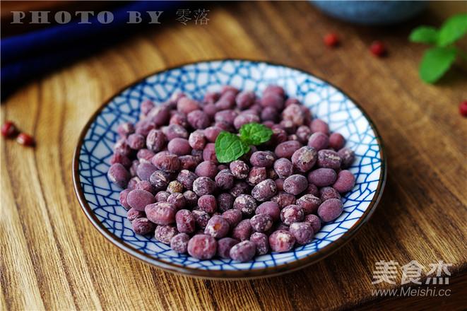 起沙红豆成品图