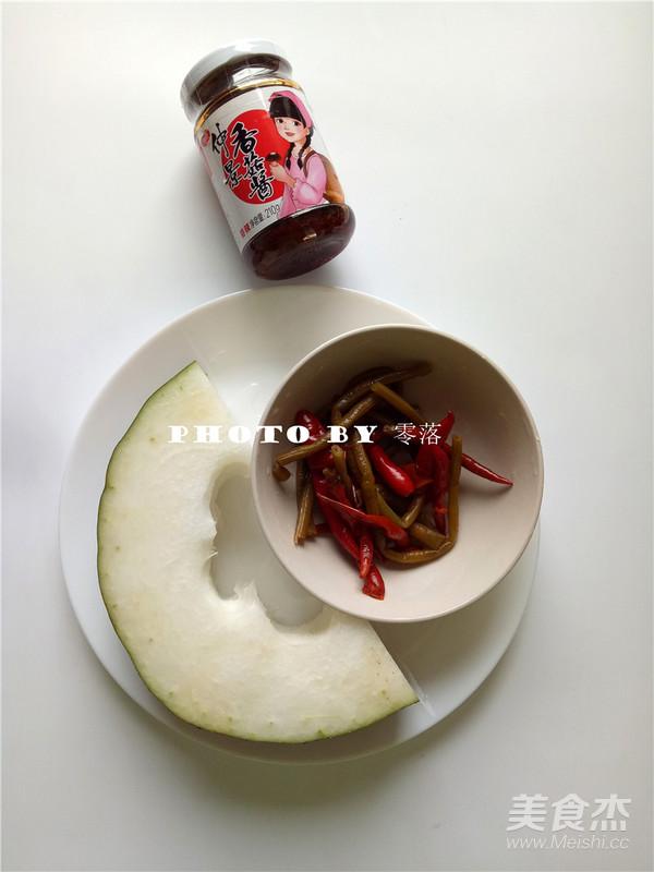 泡椒冬瓜的做法大全