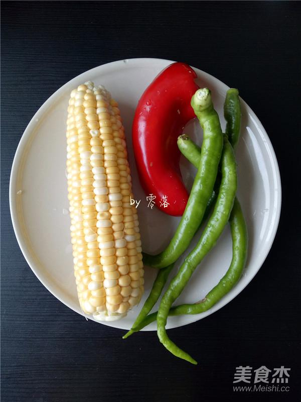 尖椒玉米粒的做法大全