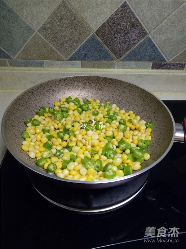 尖椒玉米粒怎么炒