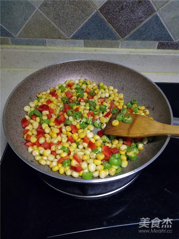 尖椒玉米粒怎么煮