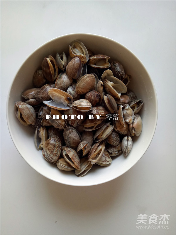香辣花蛤怎么做