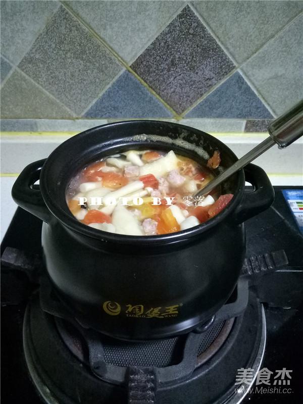 时蔬汤粑粑怎么煮